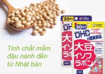 DHC Soy Isoflavone – tinh chất mầm đầu nành của Nhật