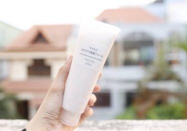 Sữa rửa mặt tạo bọt Muji Face Soap