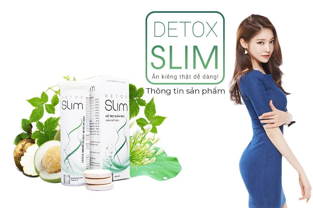 Viên sủi giảm cân Slim Detox