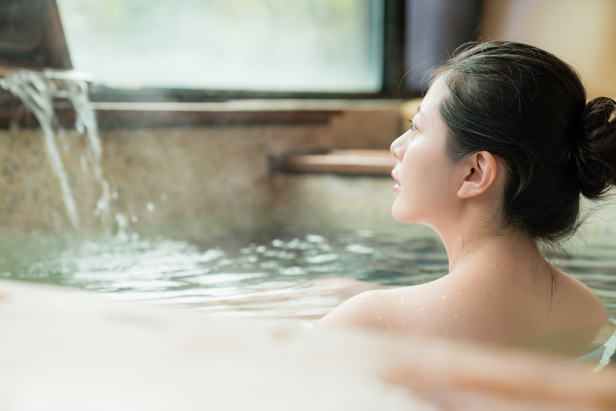 Tắm onsen ở Nhật